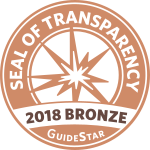 GuideStar 2018 Bronze Star